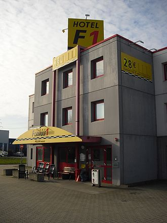 Hotel Formule 1 - Hotel Formule 1 close to Hannover, Germany