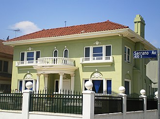 South Serrano Avenue Historic District - House at 403 S. Serrano Avenue