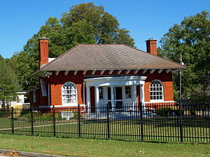 National Register of Historic Places listings in Etowah County, Alabama - Image: Howard Gardner Nichols Memorial Library Oct 2014 1