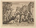 Hudibras Vanquished by Trulla (Twelve Large Illustrations for Samuel Butler's Hudibras, Plate 5) MET DP826950.jpg