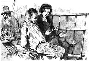The Last Day of a Condemned Man - 1829 illustration from the first edition