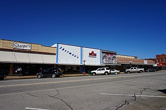 National Register of Historic Places listings in Choctaw County, Oklahoma - Image: Hugo March 2016 09 (Broadway Street)