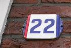 Baarle - House number in 'Nassau'