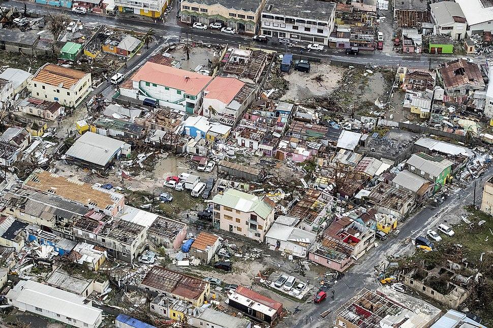 Hurricane Irma on Sint Maarten (NL) 05