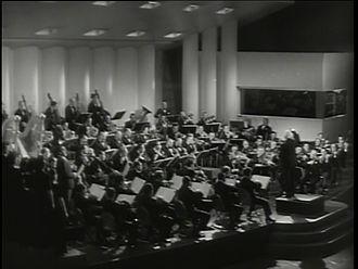 NBC Symphony Orchestra - NBC Symphony Orchestra playing Verdi's Inno delle nazioni