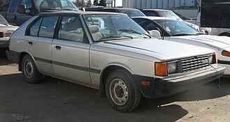 Hyundai Pony - 1985 Pony GLS hatchback