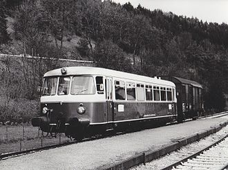 Mixed train - Mixed train of the Hohenzollerische Landesbahn (1985)