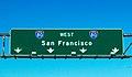 I-80 West San Francisco (26059998995) Interstate Road Sign.jpg