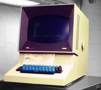 IBM 2260 - IBM 2260 video display terminal