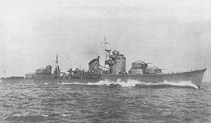 Japanese destroyer Hatsuzuki - Image: IJN Hatsuzuki 1942