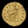 INC-2034-r Ауреус. Фаустина Младшая. Ок. 161—176 гг. (реверс).png