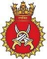 INS Ranjit (D53) crest.JPG