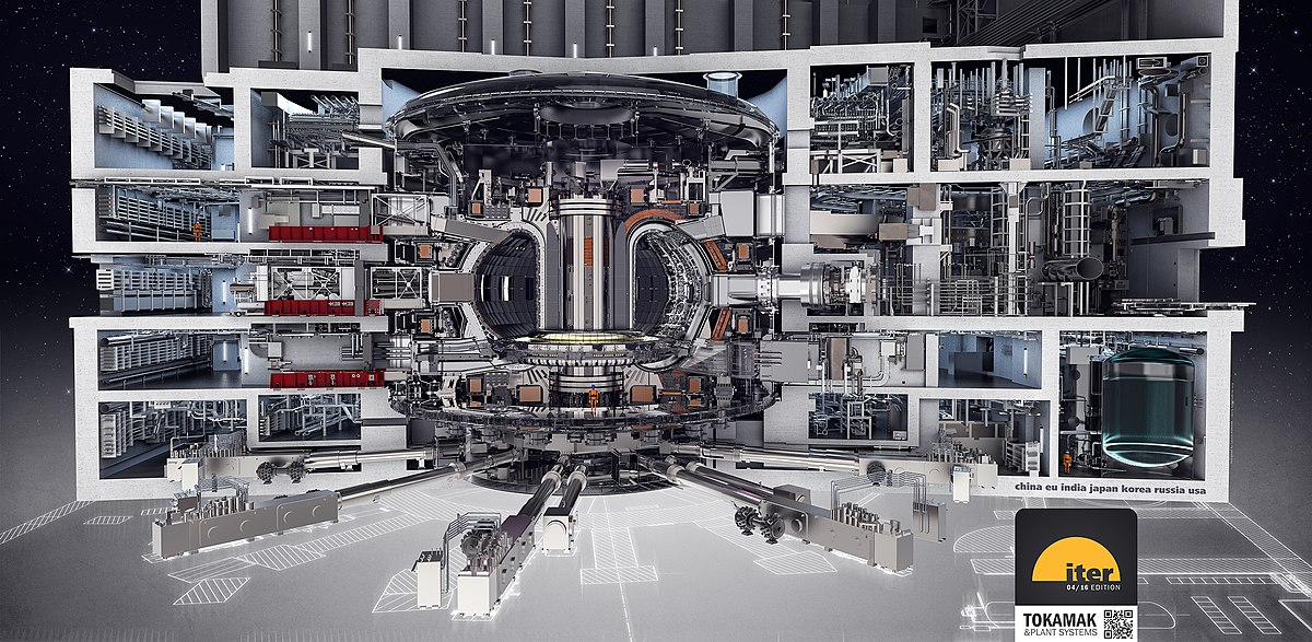 ITER Tokamak and Plant Systems (2016) (41783636452).jpg