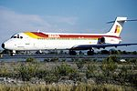 Iberia McDonnell-Douglas MD-87 (EC-EXG) (9380490401).jpg