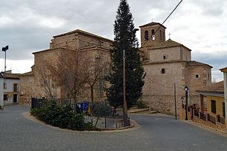 Villalba del Rey - Iglesia de Nuestra Señora de la Asunción (Villalba del Rey, Cuenca)