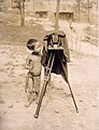 Igorrote boy taking picture with camera. (Singwa). (Philippine Reservation in the Department of Anthropology exhibit at the 1904 World's Fair).jpg