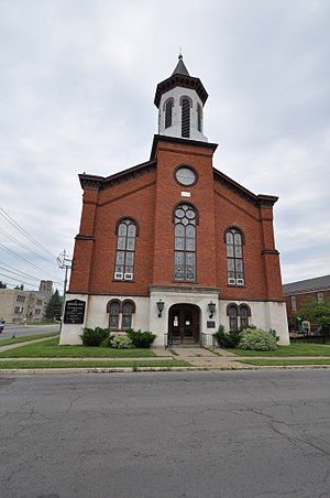 First United Methodist Church (Ilion, New York) - Image: Ilion NY First Methodist Church