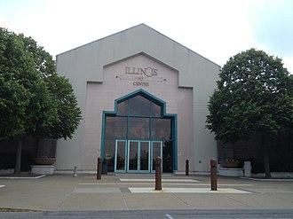 Illinois Star Centre - Entrance to Illinois Centre Mall, May 2012