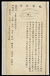 Illustration from Ming Chinese ophthalmology text, Ms copy Wellcome L0039699.jpg
