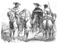Illustrirte Zeitung (1843) 17 264 2 Santa Anna und sein Adjutant Arista im Feldcostüm.PNG