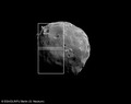 Image of Phobos with footprints of the Super Resolution Channel ESA215540.tiff