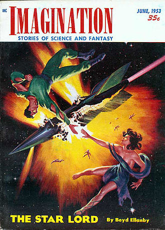 """Paycheck (short story) - """"Paycheck"""" was originally published in the June 1953 issue of Imagination."""