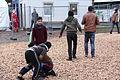 Immigranten - Flüchtlinge beim Grenzübergang Wegscheid (23116385445).jpg