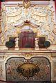 Imola, palazzo tozzoni, salotto del papa, 02 camino.jpg