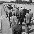 In het strafkamp te Vught, zijn 7000 Nederlandse collaborateurs en landverraders, Bestanddeelnr 900-4258.jpg