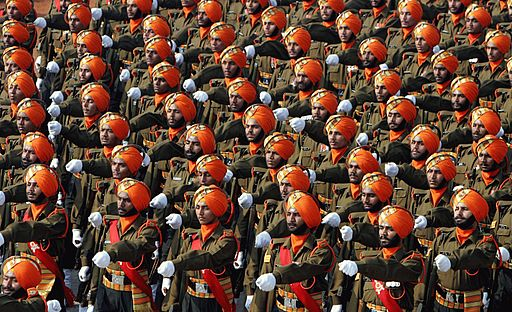 Indian Army-Sikh Light Infantry regiment