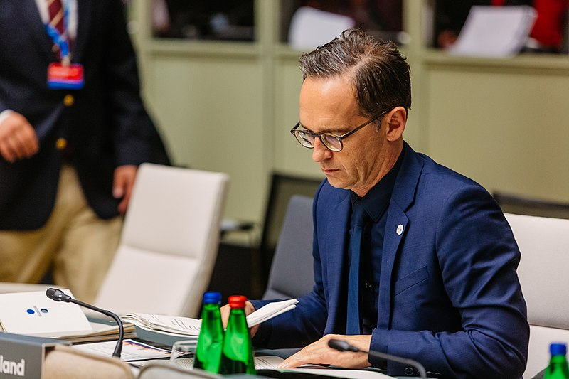 File:Informal meeting of justice and home affairs ministers. Tour de table (justice) Heiko Maas (35385255580).jpg