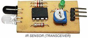 Sensor - An infrared sensor