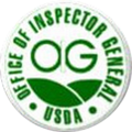 Inspector General for the U.S. Department of Agriculture Seal.png