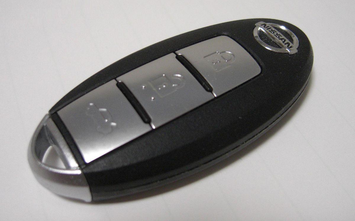 Nissan Intelligent Key - Smart Key Wikipedia