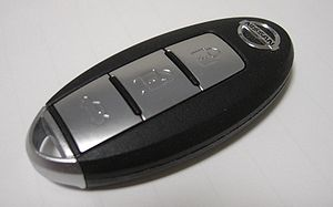 Smart key - Nissan Intelligent Key