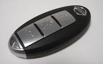 Smart key - Nissan Intelligent Key