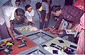 Interactive Area - Dinosaurs Alive Exhibition - Science City - Calcutta 1995-June-July 482.JPG