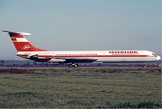 1972 Königs Wusterhausen air disaster - Interflug Il-62 similar to the aircraft involved in accident