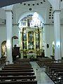 Interior de la Iglesia Parroquial de Santiago Apóstol de Valdepeñas de Jaén.JPG