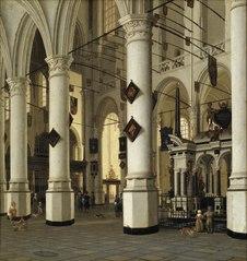 Interior of Nieuwe Kerk, Delft