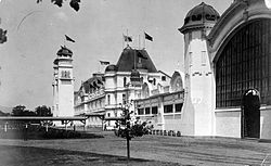 International Exhibition in Christchurch, main building.jpg