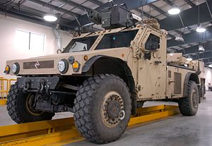 Humvee replacement process - International FTTS UV Concept