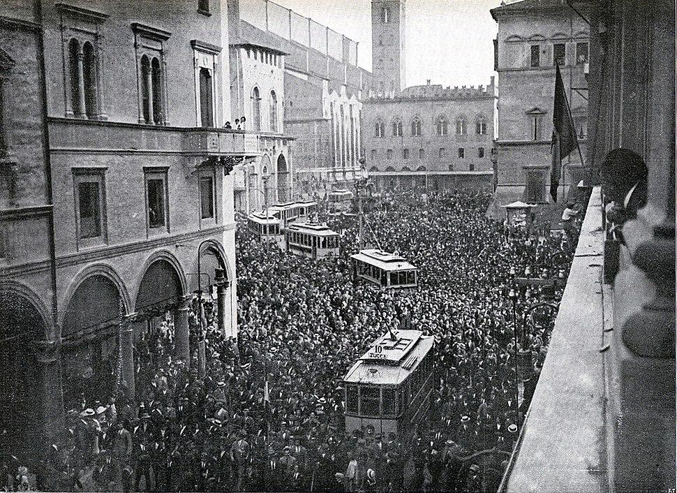 Interventisti Bologna 1914