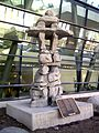 Inukshuk at Macdonald-Cartier International Airport.jpg