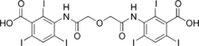 Ioglycamic acid.png