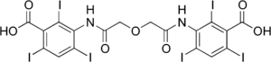 Ioglycamic acid - Image: Ioglycamic acid