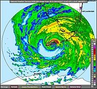 Irma over the Florida keys, from Key West radar.jpg