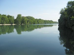 Isar - The river Isar near Munich.