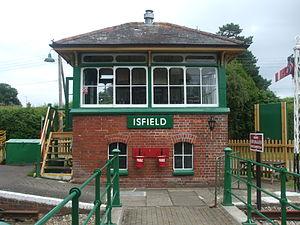 Lavender Line - Image: Isfield Railway Station 3