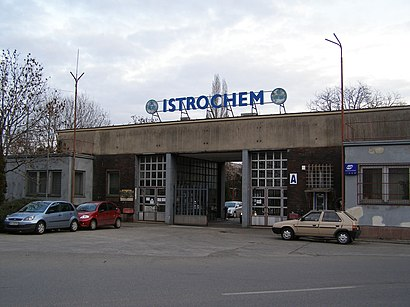 How to get to Istrochem with public transit - About the place